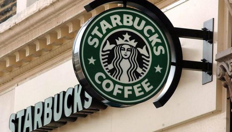 вывеска Starbucks