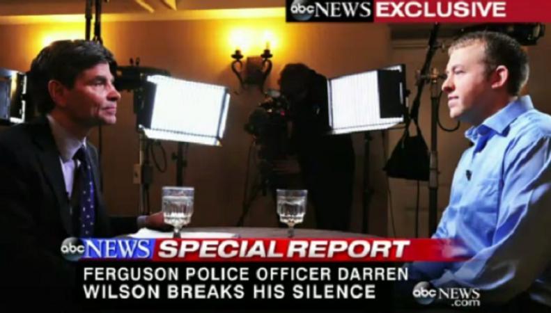 Уилсон сожалеет, что застрелил подростка, но считает, что у него не было выбора