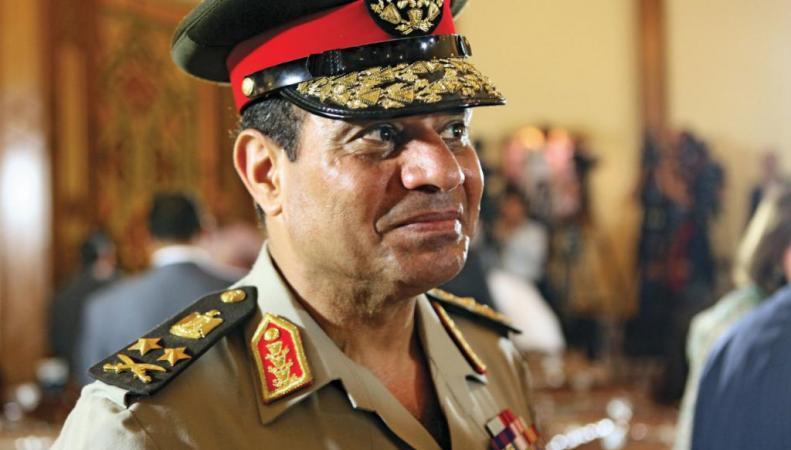 Абдель Фаттаха аль-Сиси новый президент Египта