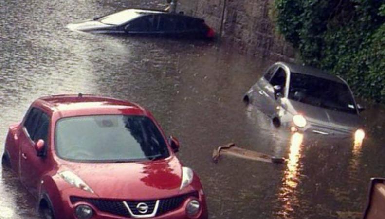 Наводнение в Абердине
