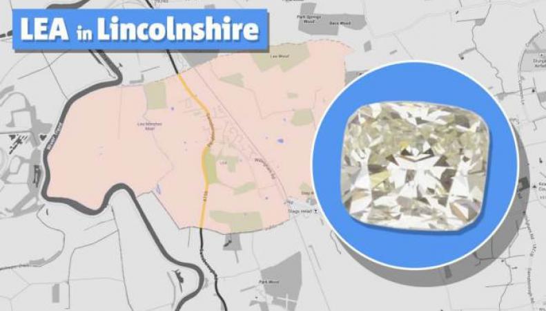 карта Линкольншира