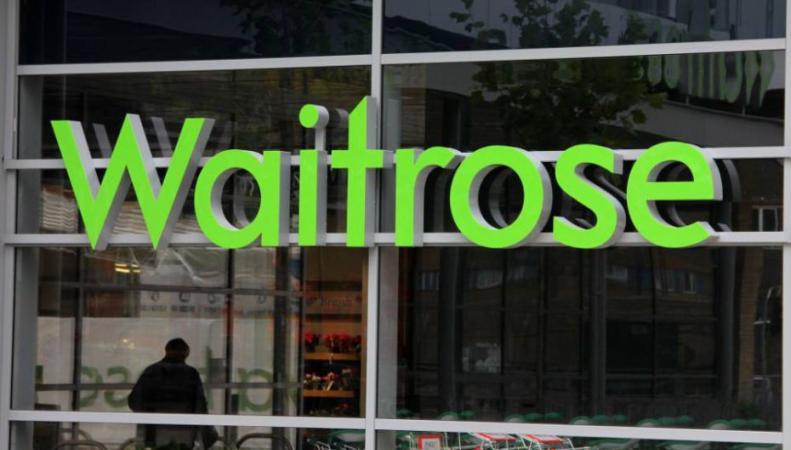 Витрина супермаркета Waitrose