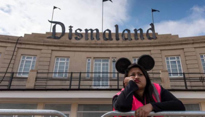 Dismaland - парк развлечений для людей с черным юмором