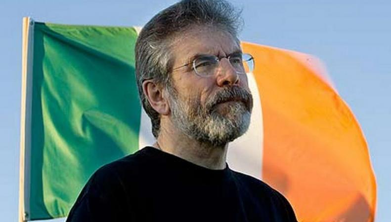 Джерри Адамс, ирландский политик
