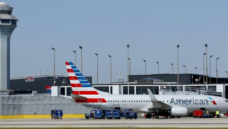 Американский аэропорт
