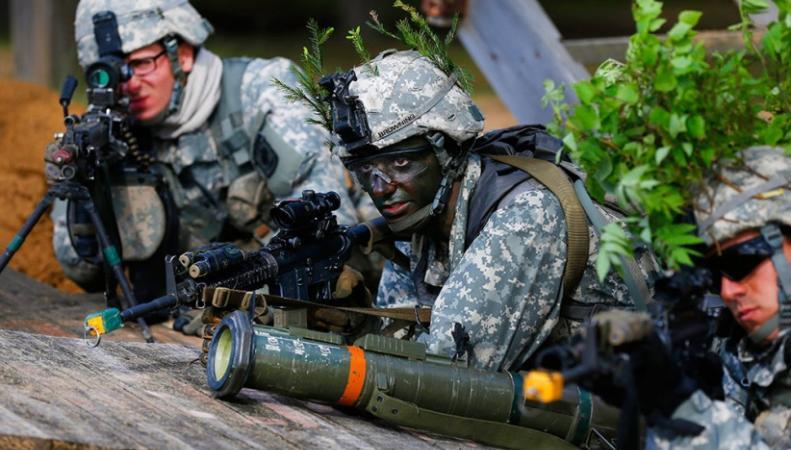 Военные НАТО в Прибалтике