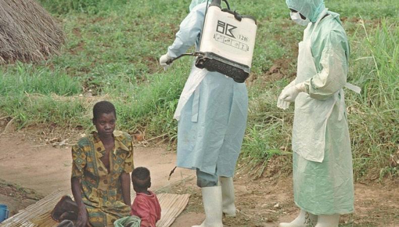Специалисты ВОЗ в Западной Африке