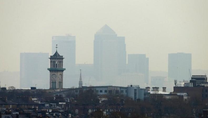 загрязнение воздуха в Англии