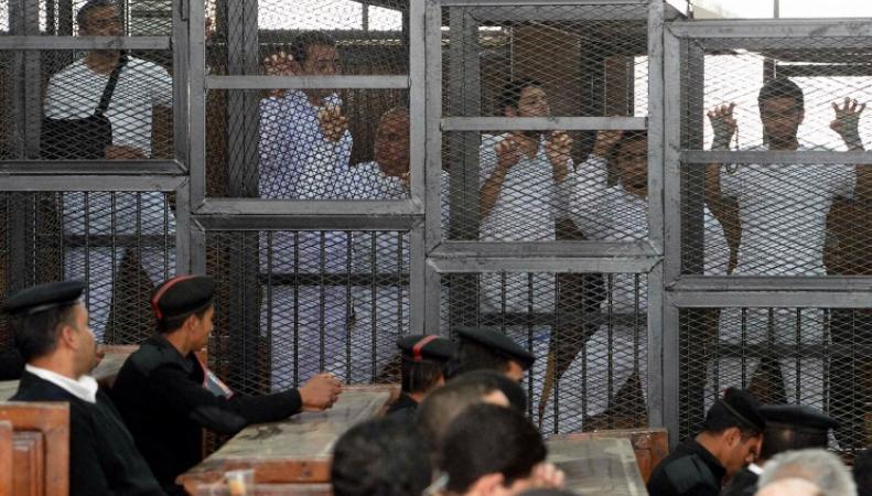Заключенные журналисты, Египет