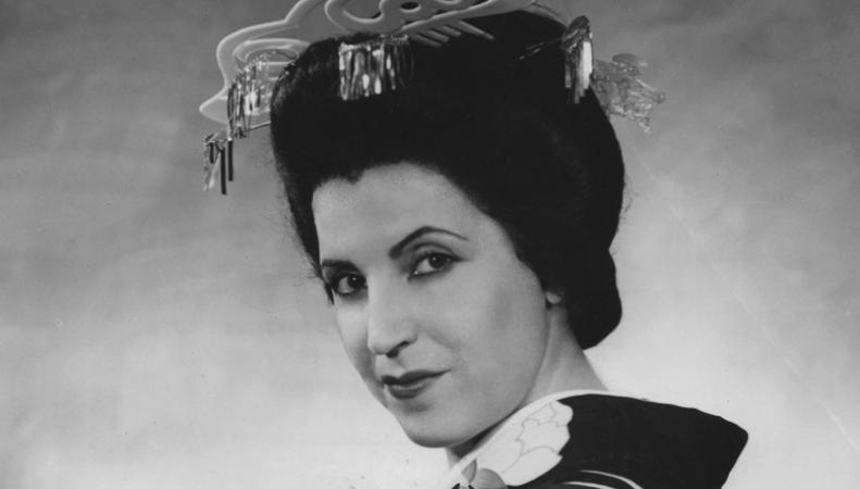 Оперная певица Личия Альбанезе