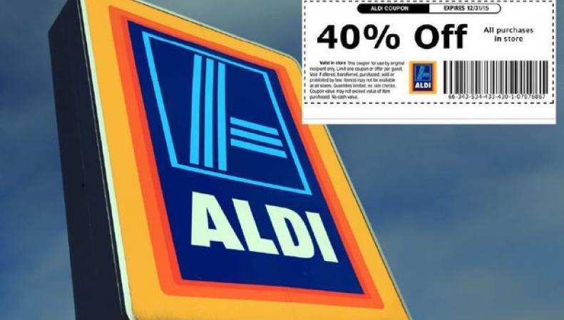 фальшивые купоны Aldi