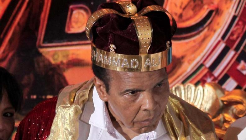 Чемпион мира по боксу в тяжелом весе Мохаммед Али