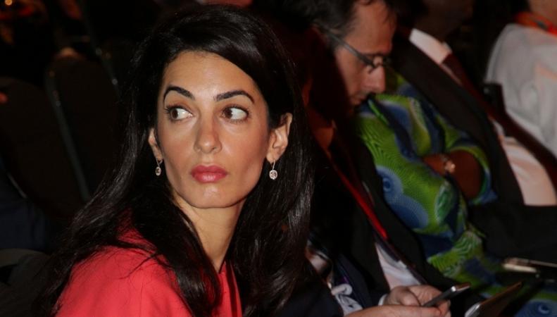 Невест Джорджа Клуни Амаль Аламуддин