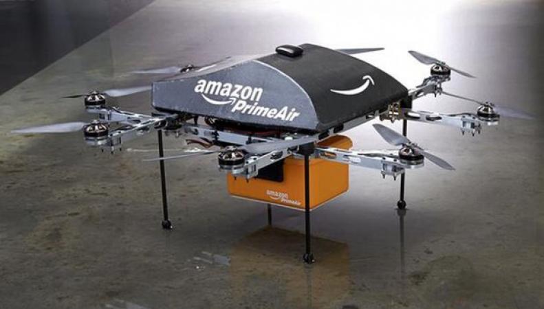 В Великобритании Amazon испытает беспилотники для доставки посылок