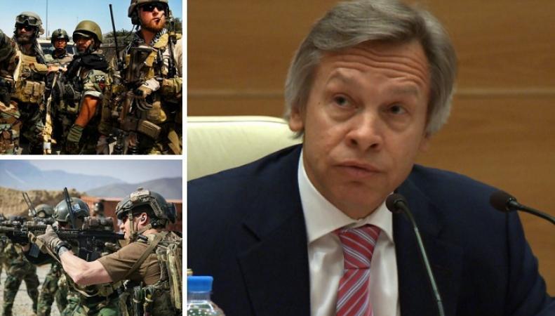 Алексей Пушков: Пентагон проводит пиар-акции, а не дейтвует