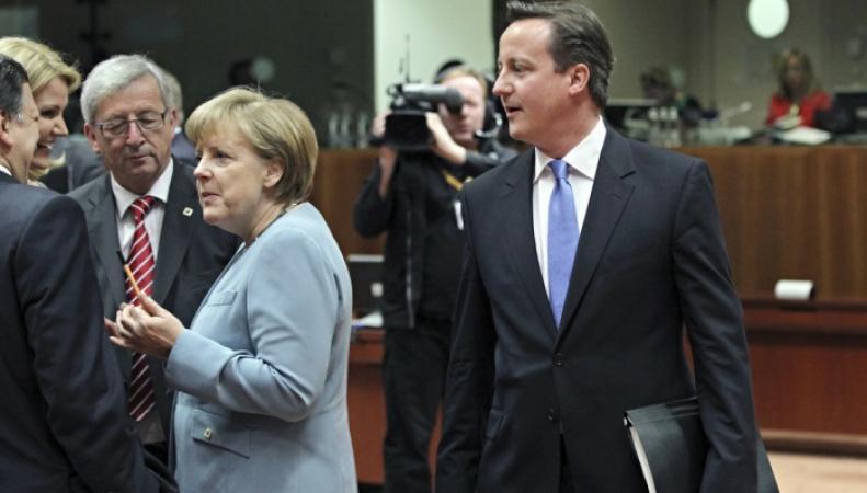Кэмерон и Меркель не могут договориться, чей план борьбы с нелегалами лучше
