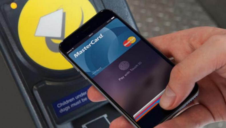 оплата проезда с помощью Apple Pay