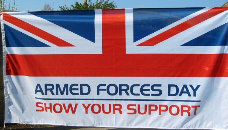 Парад в честь Дня вооруженных сил
