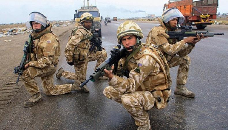 Британские военные начнут патрулировать улицы городов