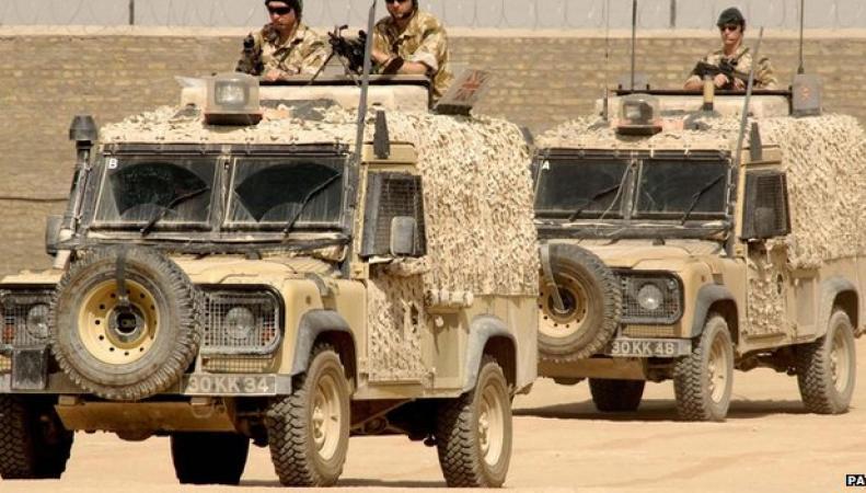 Продукция британской оборонной компании