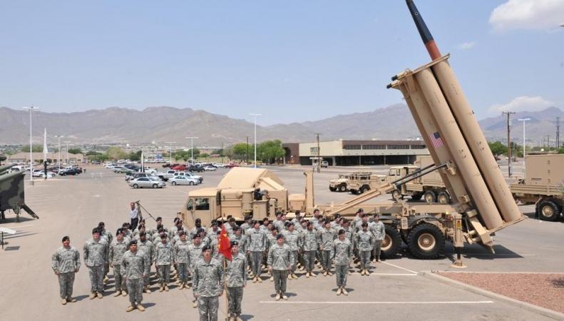 в Южной Корее США разместят  системы противоракетной обороны