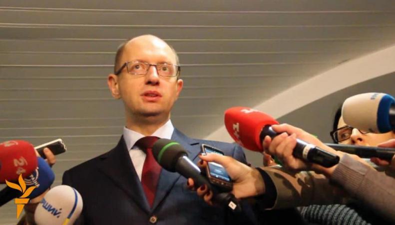Яценюк: Украина готова к новым Женевским переговорам