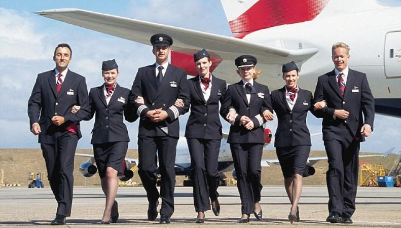 экипаж British Airways