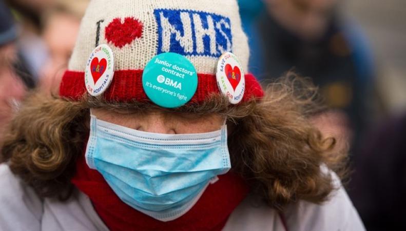 акция протеста молодых врачей