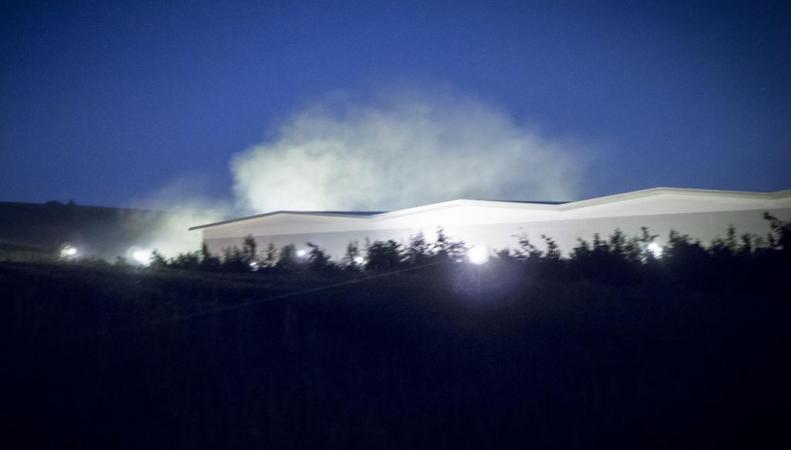 пожар на складах Asos