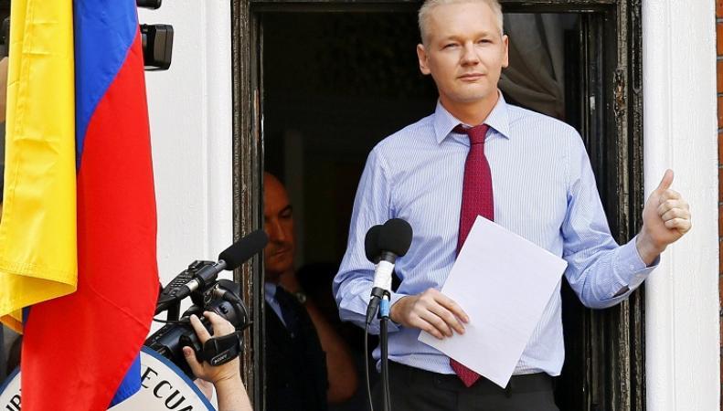 Журналист и основатель WikiLeaks Джулиан Ассандж