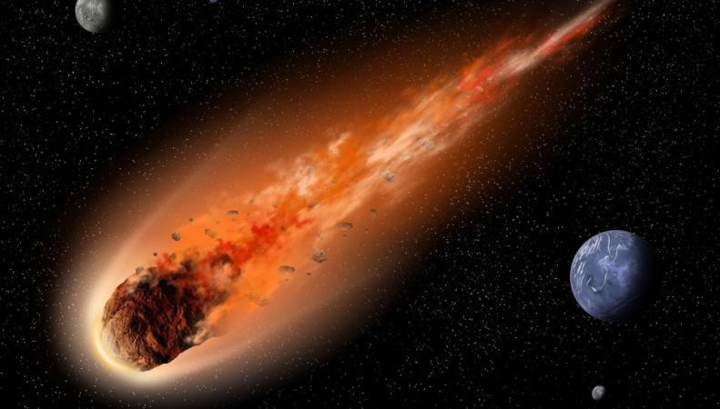 Астероид столкнётся с луной