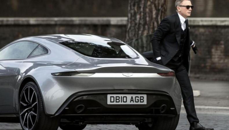 В Лондоне показали суперкары Джеймса Бонда