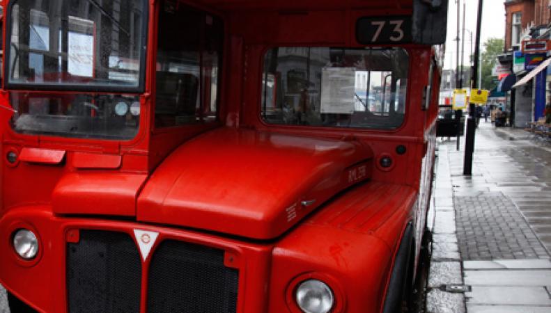 Британский автобус