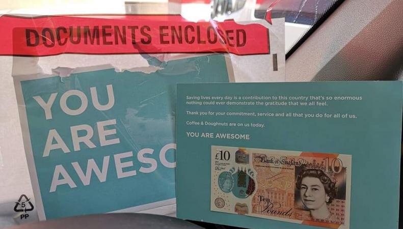 листовка с деньгами