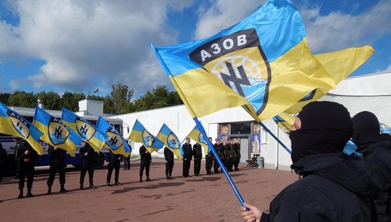 """Батальон """"Азов"""" на Украине лишился помощи США"""