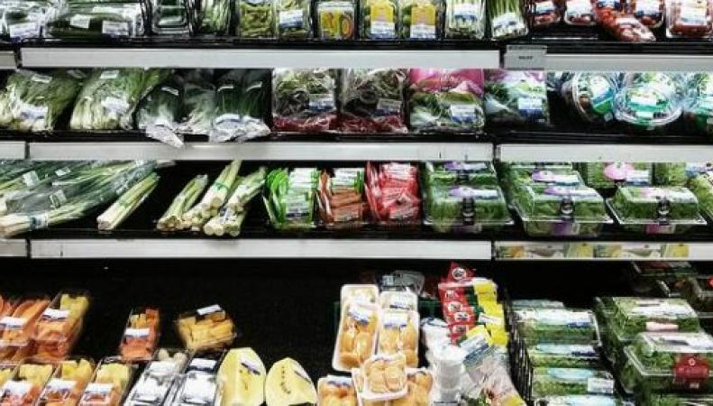 Прилавок супермаркета