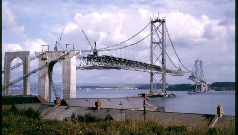 автомобильный мост в заливе Форт