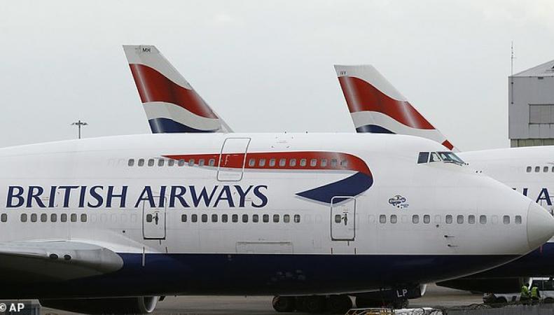 Boeing 747 в ливрее British Airways