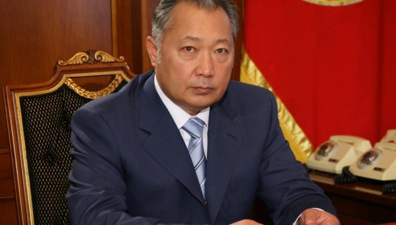 Экс-президент Киргизии Курманбек Бакиев