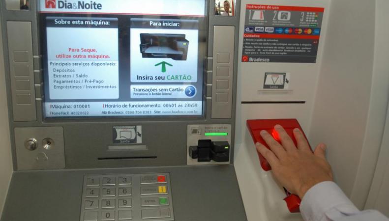 Банкоматы будут выдавать деньги по отпечаткам пальцев