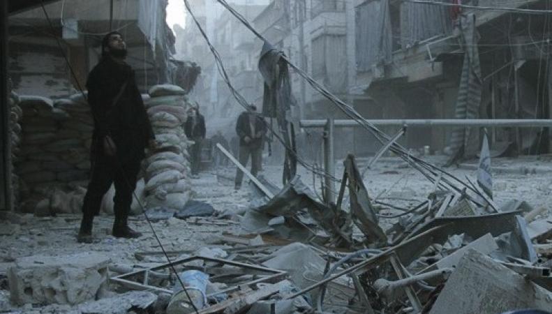 МИД Британии: армия Сирии применяет неуправляемое ракетное вооружение