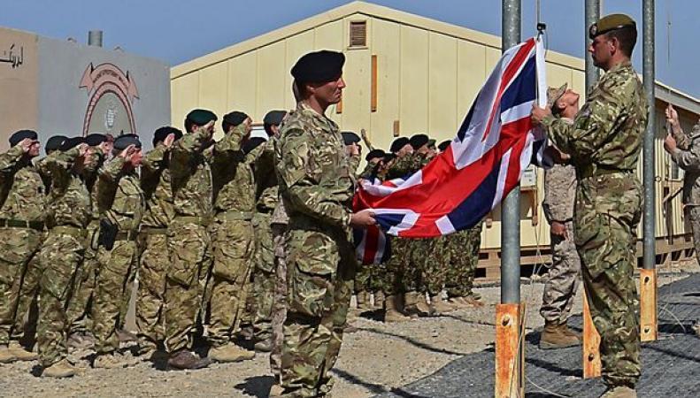 Подразделение британской армии