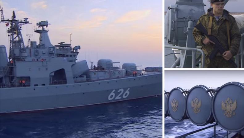 Журналист ВВС рассказал о впечатлениях от российского противолодочного корабля