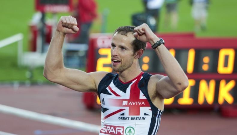 Британский чемпион Европы по бегу с препятствиями Рис Уильямс