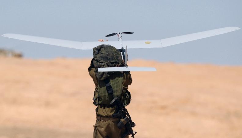 Запуск беспилотного летательного аппарата