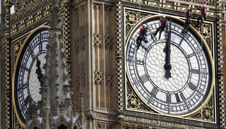 Часы на башне Биг-Бен
