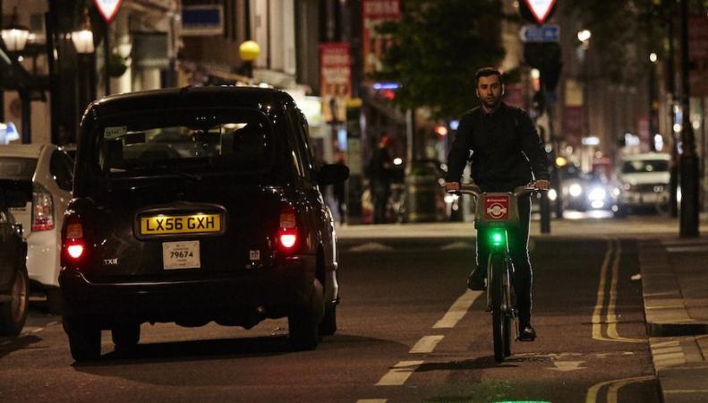 лазерные велосипедные фонари