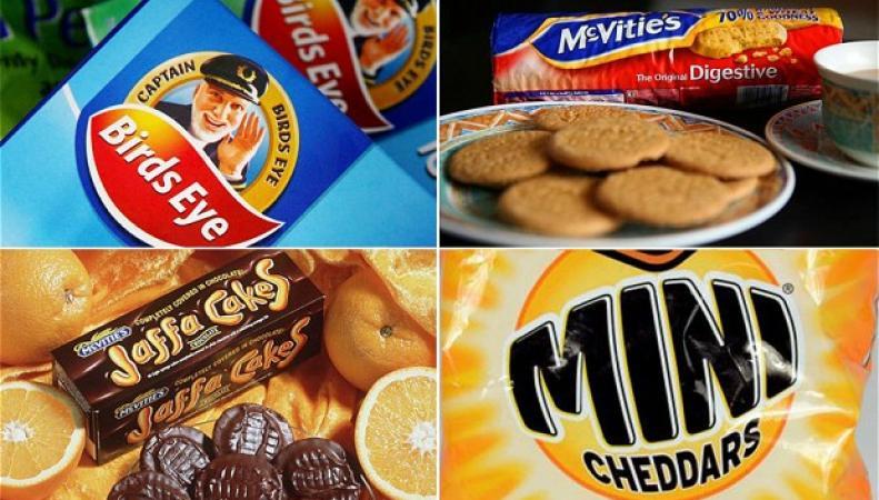 торговые марки United Biscuits
