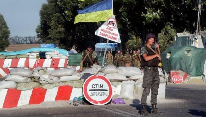 ЛНР и ДНР - начало блокады