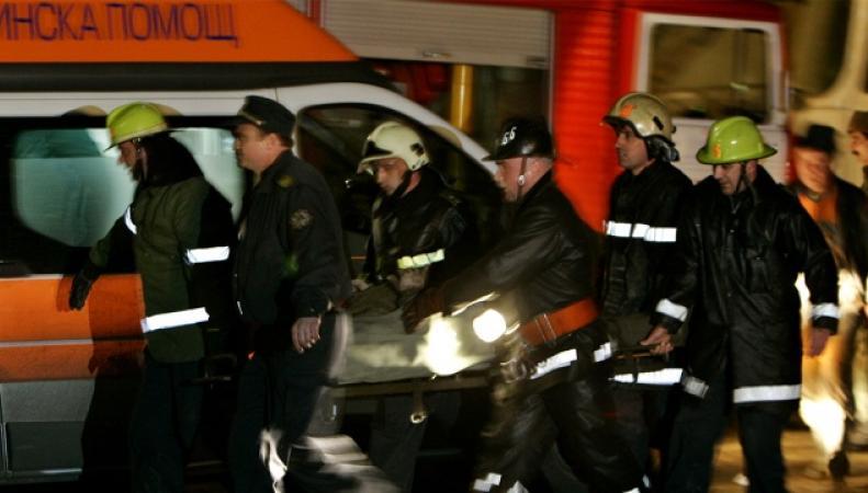 Пожарные и спасатели Болгарии